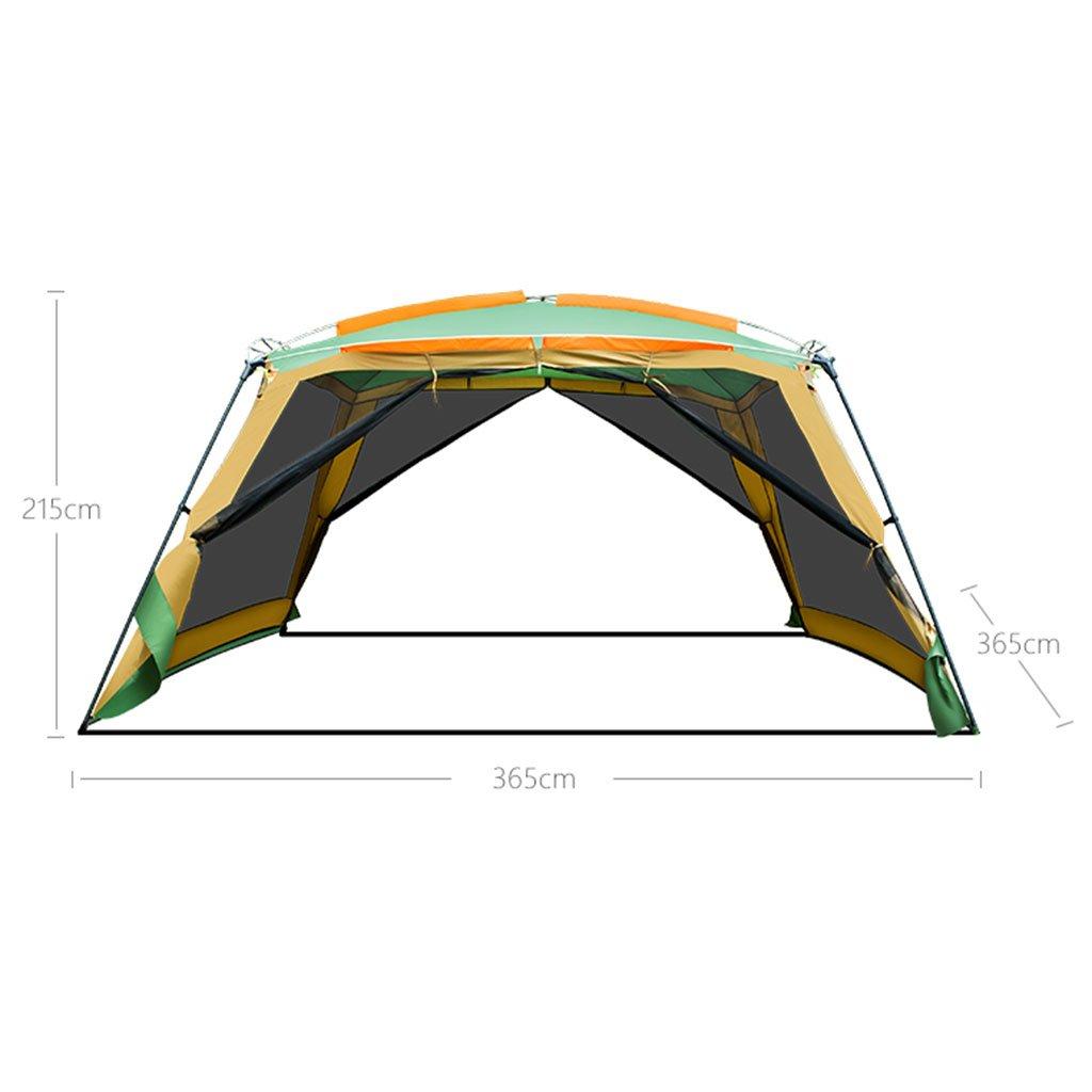 ZALIANG Zhangpeng Outdoor Pergola Camping 8-10 Personen Grill Grill Grill Markise tragbare Falten Strand Regenzelt großen Raum B07NTPHVV7 Kuppelzelte Online-Exportgeschäft 4db4d3