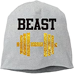 84c8126f2f Beast & Beauty Matching Couple His Love Unisex Casual Fashion Durable  Winter Warm Knit Skull Cap