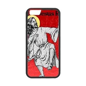 iPhone 6 Plus 5.5 Inch Cell Phone Case Black JESUS RAVES ISU534816