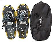 Snowshoes Snow Terrain Lightweight Ergonomic Design Lightweight Aluminum Alloy with 13 Point Crampons 120/160/