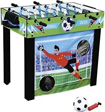 XTURNOS Futbolin 3 en 1 Varillas Telescópicas 98x55x74 cm.: Amazon.es: Juguetes y juegos