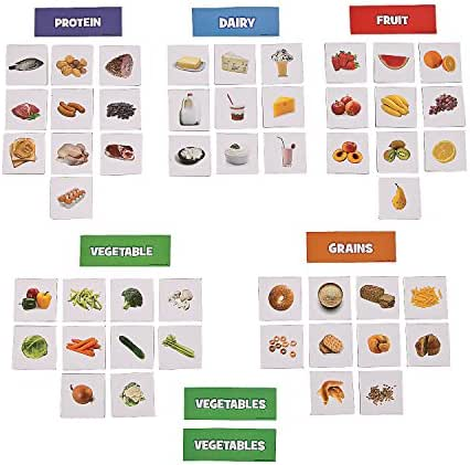 Fun Express FMy Plate Food Health Sorting Magnets (55 Piece) 4