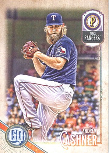 2018 Topps Gypsy Queen #5 Andrew Cashner Texas Rangers Baseball Card - GOTBASEBALLCARDS
