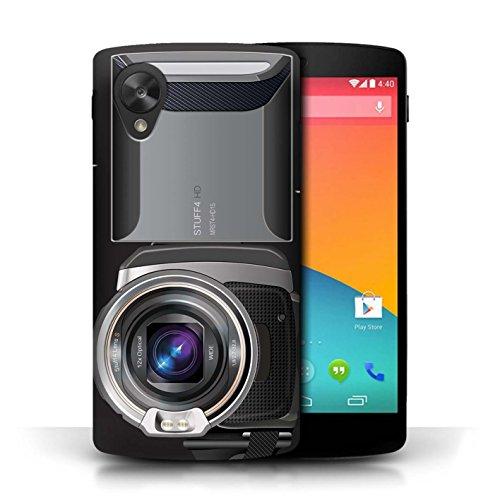 Etui / Coque pour LG Google Nexus 5/D821 / Caméscope conception / Collection de Appareil Photo