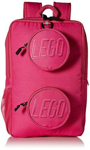 LEGO Brick Backpack-Pink (Lego Bricks & More Building Plate 628)