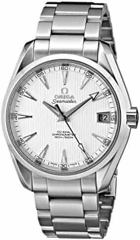 Omega Men's 231.10.39.21.02.001 Seamaster Aqua Terra Stainless Steel Watch