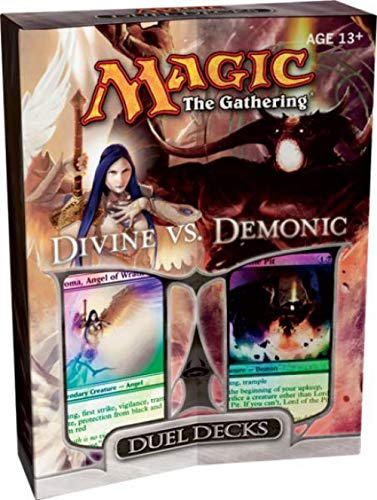 Magic the Gathering Card Game Duel Decks Divine vs. Demonic Gift Set