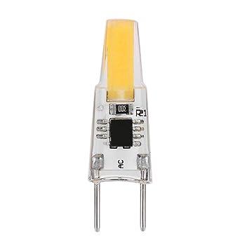 Starnearby Bombilla LED G8 de 3 W, CA 110 V-120 V, regulable