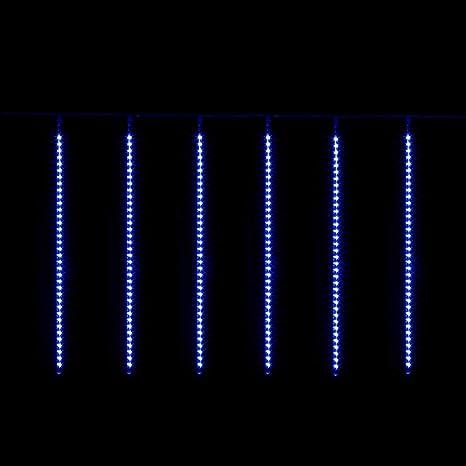 Tende Luminose Da Esterno.Bellera Tenda Luminosa Effetto Pioggia 3x0 8m 10 Tubi