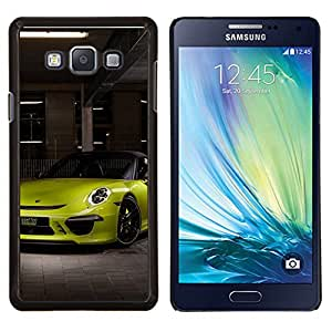 CashCase @ FOR Samsung Galaxy A7 Tuned German 911 Doble capa de armadura de la cubierta del caso del protector