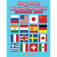 Flags From Around the World Coloring Book