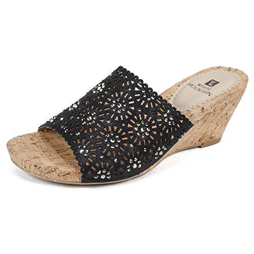 WHITE MOUNTAIN Shoes Adira Womens Wedge