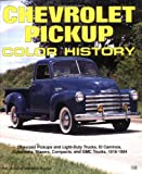 Chevrolet Pickup Color History (Truck Color History)