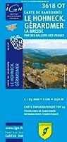 3618OT LE HOHNECK/GERARDMER par Institut géographique national