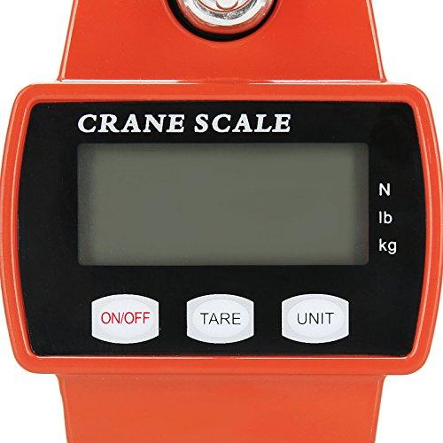 Voilamart 디지털 기중기 스케일 매달려 규모 660 LBS 300 KG 전..