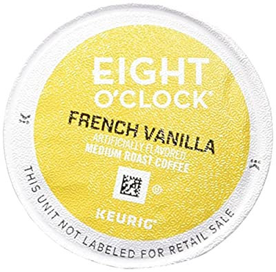 Eight O'Clock Coffee French Vanilla Coffee - 18 ct