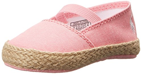 Ralph Baby Layette Lauren - Ralph Lauren Layette Bowman Espadrille (Infant/Toddler), Pink Chambray, 0 M US Infant
