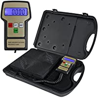 Nouva Electronic Digital Refrigerant Charging Weight Scale, High Precision Freon Recovery Tool 220lbs for HVAC R134a with Carrying Case