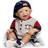 Bonnie Chyle Michael The Little Slugger So Truly Real Lifelike Baby Doll by Ashton Drake