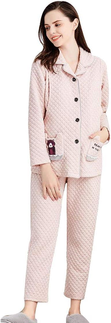 Pijamas de Maternidad para Mujer de algodón camisón Embarazo ...