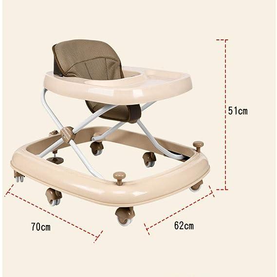 Andador para bebés, carro deslizable plegable portátil instalación ...