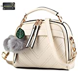 Donalworld Women Faux Leather Ladies Stylish Designer Tote Handbags