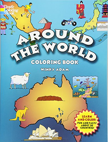 Tools Teachers 4 (Around the World Coloring Book (Dover History Coloring Book))