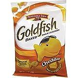 Pepperidge Farm 13539 Baked Goldfish Crackers, 1.5oz, 72/CT, Cheddar