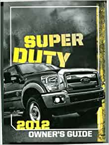 ford super duty owners manual     ford