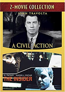 com a civil action john travolta robert duvall tony  2 pk civil action insider