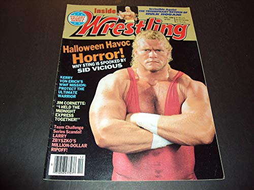 (Inside Wrestling Dec 1990 Halloween Havoc Horror Sid)