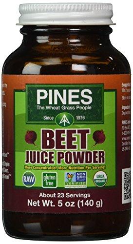 Pines Wheat Grass Beet Juice Powder, 5 Ounce