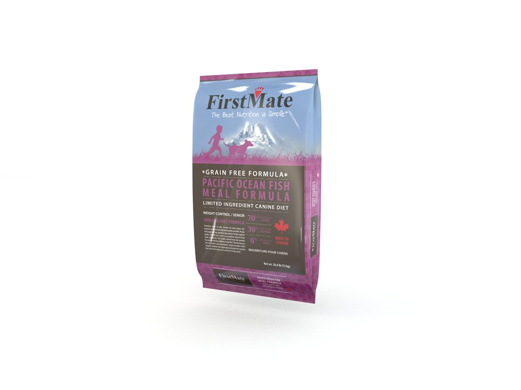 FirstMate Pet Foods Pacific Ocean Fish Senior/Weight Control, 28.6 Pound