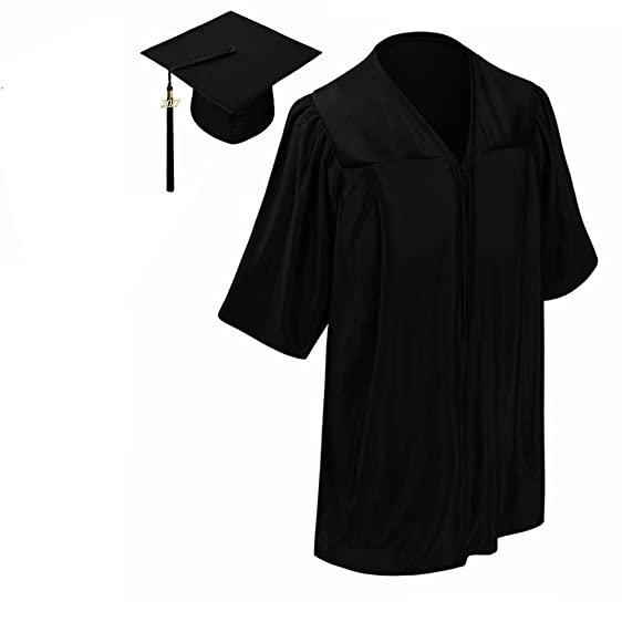 Amazon.com: lescapsgown Kindergarten Graduation Gown Cap Tassel Set ...