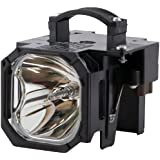 Electrified 915P043010 Replacement Lamp with Housing for Mitsubishi Televisions