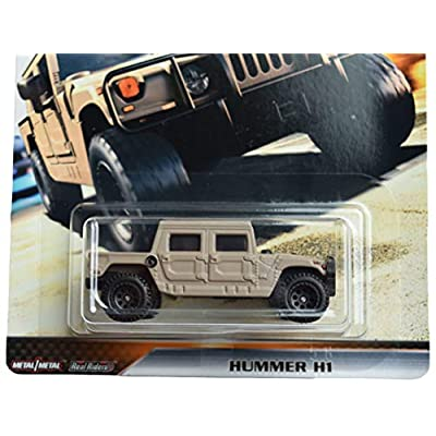 Hot Wheels Furious Off Road Hummer H1 5/5, tan: Toys & Games