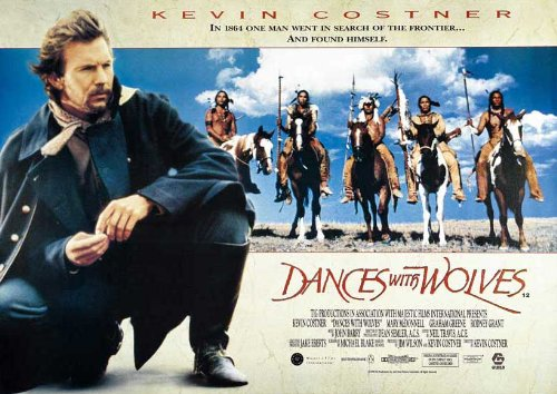 Dances With Wolves Poster 30x40 Kevin Costner Mary McDonnell Graham Greene (Dance Movie Poster)