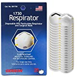 Gerson N95 Disposable Particulate Respirator Surgical Mask Without Valves, 20 Pack