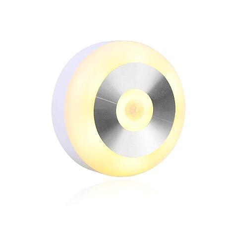 LED Luz Nocturna Sensor de Movimiento Automático NOUDOO Lámpara de Sensor de Movimiento Lámpara de Inducción