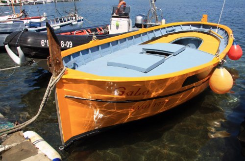 A Boat Named Gala - Dali's Muse; Port Lligat - Cadaques, Catalonia, Spain - Framed Photo Art Print, 11