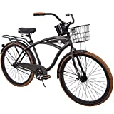 "26"" Huffy Nel Lusso Men's Cruiser Bike, PIANO BLACK"