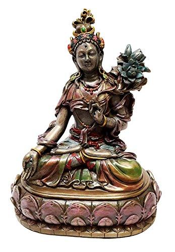 ARYA WHITE TARA JETSUN DOLMA TIBETAN BUDDHISM STATUE BODHISATTVA FIGURINE