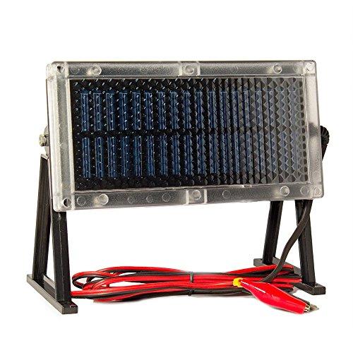 6-Volt Solar Panel Charger for Power Patrol SLA0925 SLA 6V 7Ah Battery by Universal Power Group