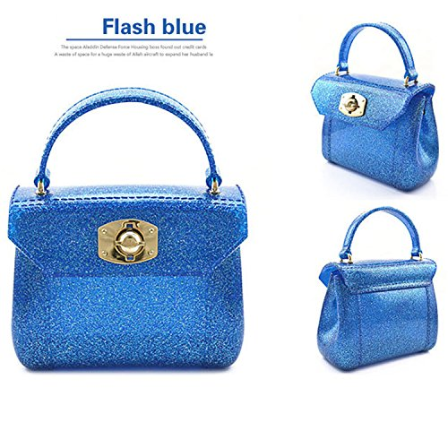 NK store Frauen's elegant koreanischen Mini Zuckerbeutel Frauen, blau, multifuctional Stil