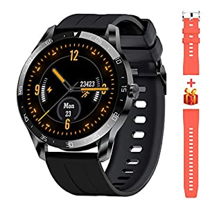 Blackview Smart Watch for Men, Full Touch Screen Fitness Trackers with Heart Rate Sleep Monitor, Fitness Watch with 5ATM…