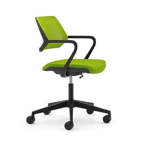 Amazon.com: steelcase qivi silla en tela, Tela, Wasabi ...