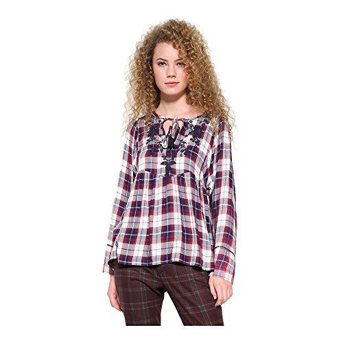 Desigual T Shirt Blouse Matilda Purple Violet 17wwbw68