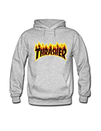 Thrasher Flame For Boys Girls Hoodies Sweatshirts Pullover Tops