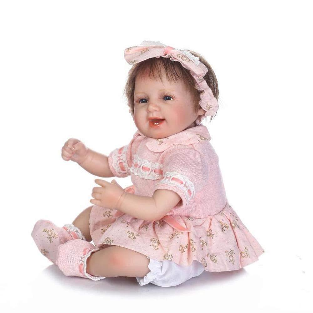 22ffe95313 ZHRUIY ZHRUIY ZHRUIY Bambolotti Adatto Per 3-14 Anni Rinascita Neonato Baby  Doll Silicone Morbido Corpo Lifelike Bambola Riciclata Con Vestiti Del  Bambino ...