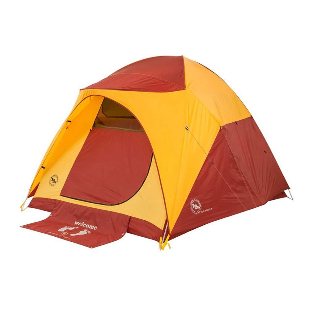 YONGMEI Zelt - Outdoor Camping Selbstfahrendes Zelt - 6-Personen-Zelt Sport im Freien